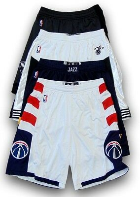 Authentic Adidas Men s NBA On-Court Team Issued Pro Cut Game Shorts - Pick  Team 0125a6531