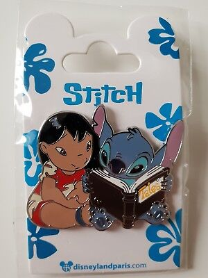 Pins Disneyland Paris LILO ET STITCH LIVRE BOOK Pin's