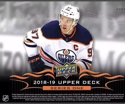 2018/19 UPPER DECK SERIES 1 COMPLETE   SET 1-200 free CONNER McDAVID TIN LID