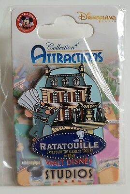 Pins Disneyland Paris Collection ATTRACTIONS Ratatouille Pin's