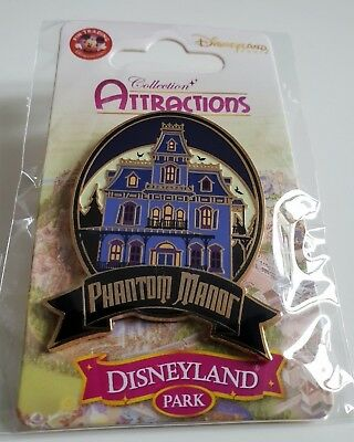 Pins Disneyland Paris Collection ATTRACTIONS Phantom Manor Pin's