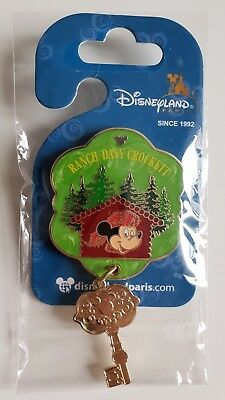 Pins Disneyland Paris Collection HOTELS DAVY CROCKETT RANCH Pin's