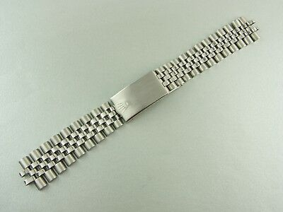 Rolex GMT 1675 Armband Jubilee bracelet steel vintage rare Bj. 72 Made in Mexico