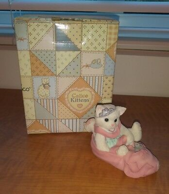 1997 Enesco Calico Kittens We're Partners in the Dance of Life 314471 Ballet
