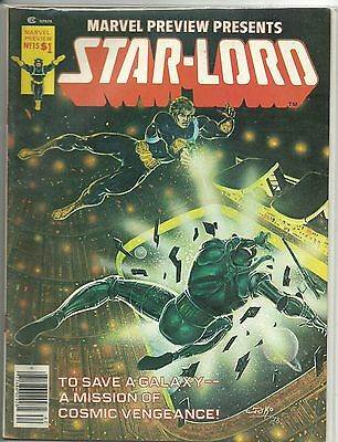 (1975 Series) Marvel Preview Presents Magazine #15 - 4Th App Starlord Fn+