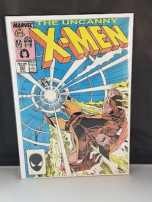 Uncanny X-Men #221 VF+ 8.5 High Grade 1st Mr. Sinister! Combined Shipping