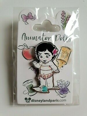 Pins Disneyland Paris ANIMATOR DOLLS BLANCHE NEIGE SNOW WHITE Pin's
