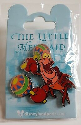 Pins Disneyland Paris LITTLE MERMAID PETITE SIRENE SEBASTIEN Pin's