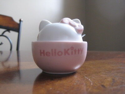 Hello Kitty sugar bowl with lid and spoon
