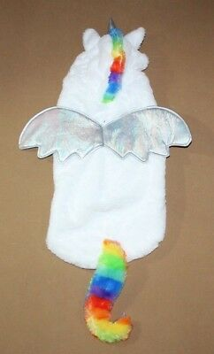 NEW Unicorn Pegasus Dog Pet Halloween Costume Size M