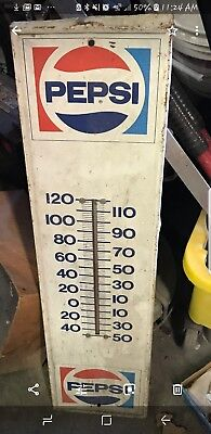 Pepsi Thermometer Sign