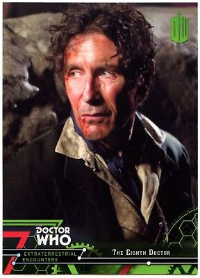 Eighth Doctor #8 Dr Who Extraterrestrial Encounters 2016 Topps Trade Card C2008