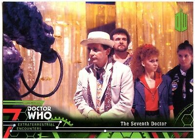 Seventh Doctor #7 Dr Who Extraterrestrial Encounters 2016 Topps Trade Card C2008