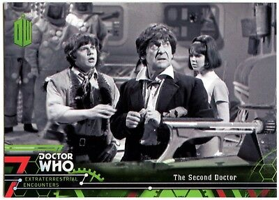 Second Doctor #2 Dr. Who Extraterrestrial Encounters 2016 Topps Trade Card C2008