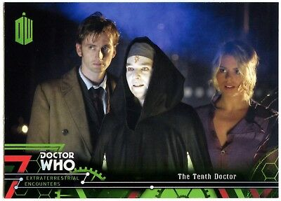 Tenth Doctor #11 Dr. Who Extraterrestrial Encounters 2016 Topps Trade Card C2008