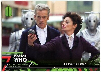 Twelfth Doctor #13 Dr. Who Extraterrestrial Encounters 2016 Topps Card (C2008)