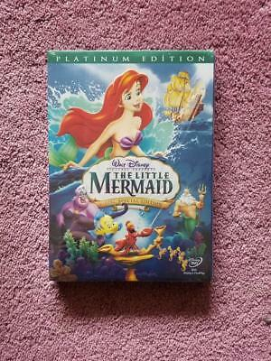 The Little Mermaid (DVD, 2006, 2-Disc Set, Platinum Edition) Free Shipping!