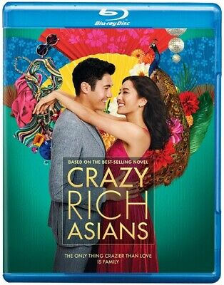 Crazy Rich Asians [New Blu-ray]