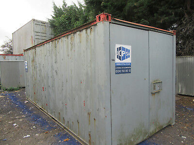 20ft x 8ft SHIPPING CONTAINER STORAGE CONTAINER STEEL CONTAINER 900 + VAT LOCKED