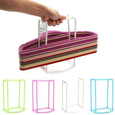 Plastic Hangers Creative Finishing Frame Hanger Home Companion Storage Rack C