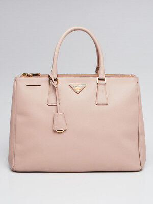 5eec1f43d147f6 PRADA CAMMEO SAFFIANO Lux Leather Double Zip Large Tote Bag BN1786 ...