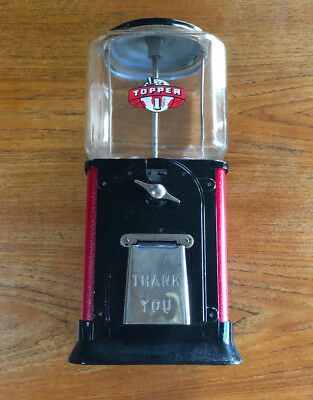 Vintage Topper Deluxe 1 cent Peanut/gumball Machine Parkway Machine