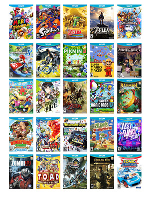 Wii U Console Bundle with 140 Games and 1 TB USB Drive