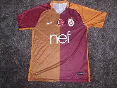 "2016-2017 Nike Galatasaray Home Football Shirt, Fusball Trikot, 38""-40"" (Medium)"