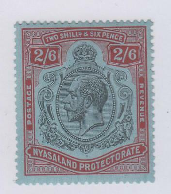 Nyasaland Protectorate 34  Mint Heavy Hinged Og * No Faults Very Fine!