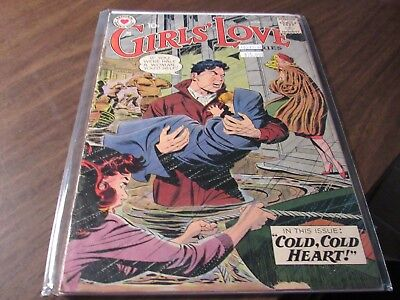 Girls of Love #63 Vintage National Romance Group Comic Book 1959 Silver Age