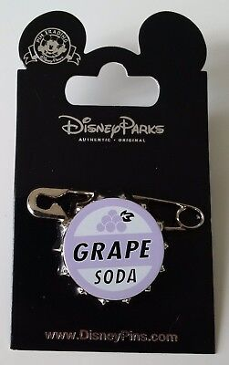 Pins Disneyland Paris LA HAUT EPINGLE GRAPE SODA Pin's