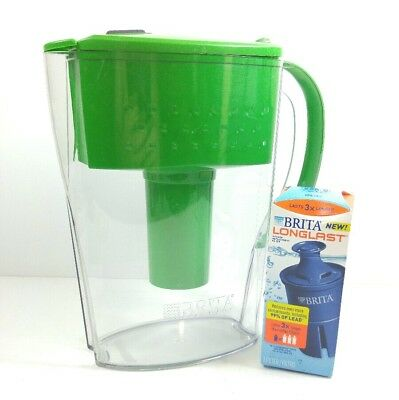 Brita Water Filtration Pitcher 6 CUP with 1 Filter Green(mts2)