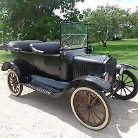 1917 Ford Model T  1917 ford model t touring car