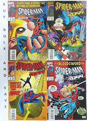 SPIDER-MAN 2099 13 14 15 17 Marvel 1992 Series VF N/M Never Read New Old Stock