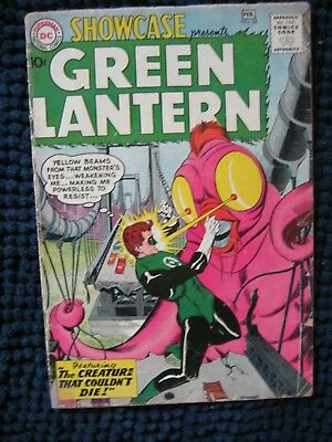 Showcase # 24 ~ 3rd Silver Age Green Lantern ~ DC Comics 1960 GOOD MINUS(1.8)