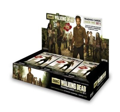 Walking Dead Season 3 Part 1 FACTORY SEALED Trading Card HOBBY Box Cryptozoic
