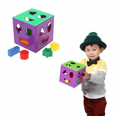 Baby Blocks Shape Nesting Sorter Toy ColorToys Recognition Toddler Baby Toys