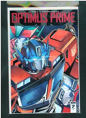 Transformers Optimus Prime #7 NM 9.4 Incentive Cover Unlimited $6 Shipping