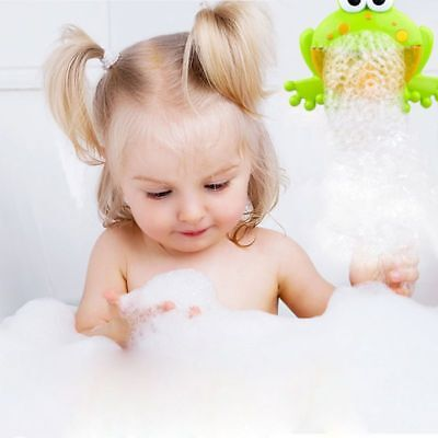 New Frog Bubble Maker Bath Toys Crab Bubble Maker Music Bathroom Newborn Gift