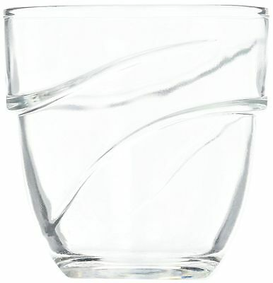 NEW Duralex Wave water glass 220ml, stackable, without filling mark, 6 LK#