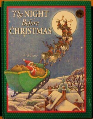 The Night Before Christmas (Christmas Books) Paperback Book The Cheap Fast Free