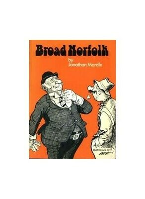 Broad Norfolk by Mardle, Jonathan Hardback Book The Cheap Fast Free Post