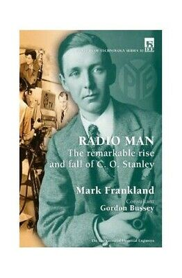 Radio Man: The remarkable rise and fall of C.O. S... by Frankland, Mark Hardback