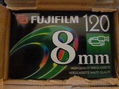 Lot of 10 Fuji P6-120 Hi8 MP High Quality Tapes   In Box