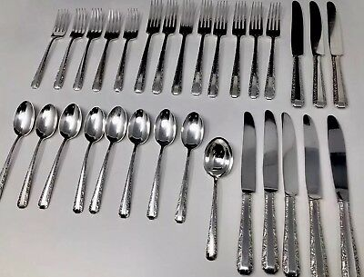 Candlelight by TOWLE Sterling Silver Flatware Set 30 Pieces No Monogram
