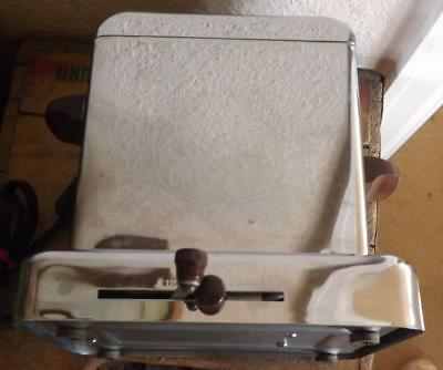 Vintage Chrome Dominion Two Slice Toaster