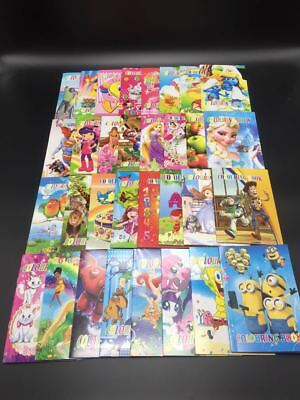 Bulk Lot 12 x KIDS COLOURING BOOKS Chritmas FUN PARTY Favor Loot Bag Filler AU