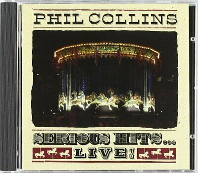 Phil Collins - Serious Hits - Live - Phil Collins CD UHVG The Cheap Fast Free