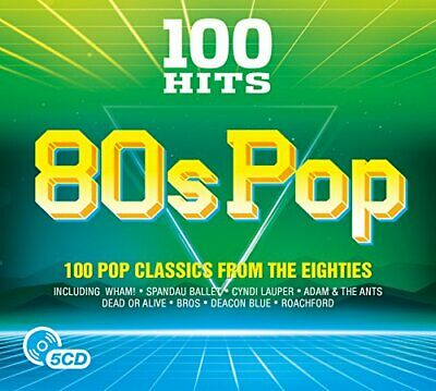 Various Artists - 100 Hits - 80s Pop - Various Artists CD TDVG The Cheap Fast