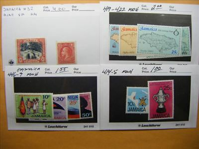 3982 Jamaica Lot of 4 Mint Stamp Packs